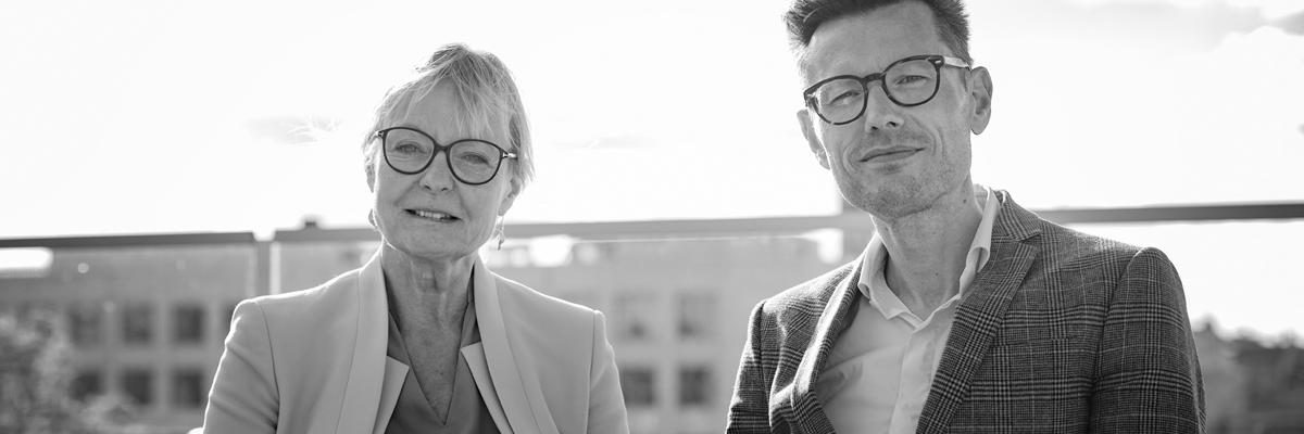 Franz Søes-Cybulski og Jette Frederiksen fra Dynamisk HR-Netværk
